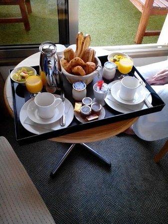 Hotel Lyon Metropole : Petit-dejeuner continental