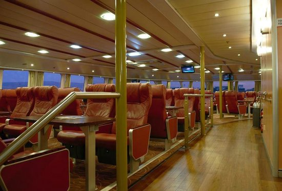 Hellenic Seaways: HighSpeed 6 VIP Section