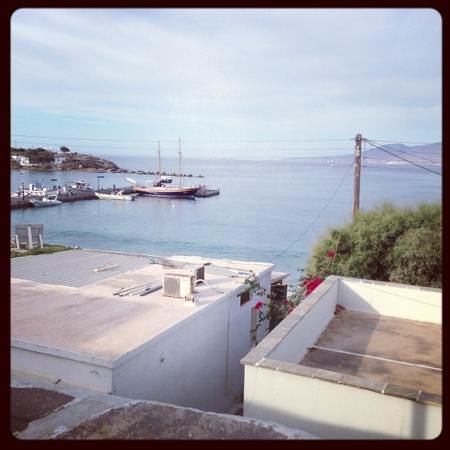 Iria Beach Art Hotel: view