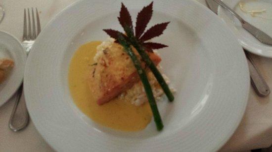 Casa Velas: Salmon at Chef's Table