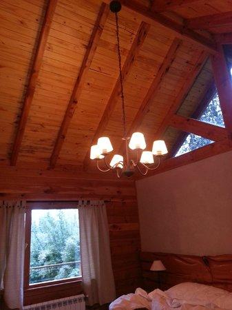 Tillka - Casas de Montana: Techo de la habitación