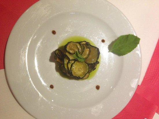 SNB (Salerno Napoli Barcelona): Calabacines fritos a la vinagreta