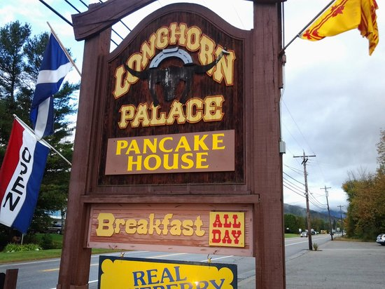 Longhorn Palace: Their sign
