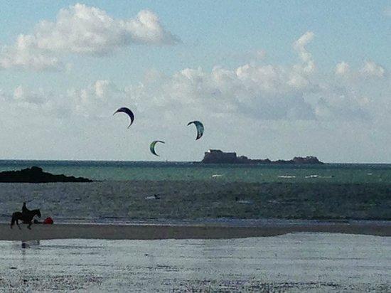 Hotel Alba : Kite sails