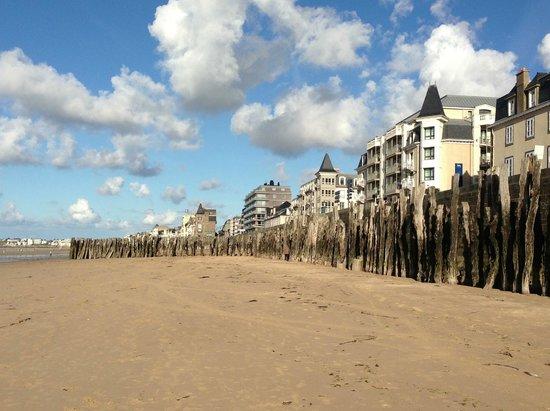 Hotel Alba: The beach