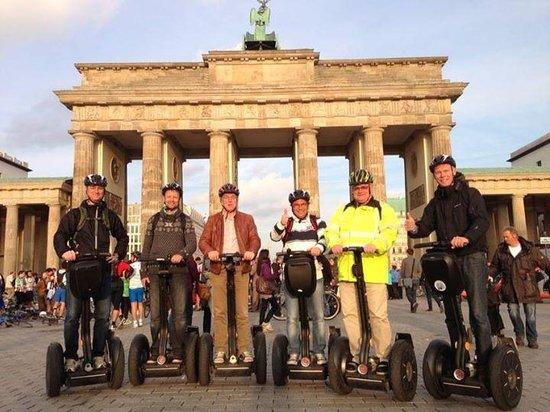 City Segway Tours: Segways in front of Brandenburger tor
