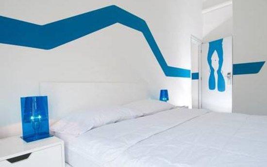 WAVE Hotel & Café Curaçao: quarto Wave Hotel