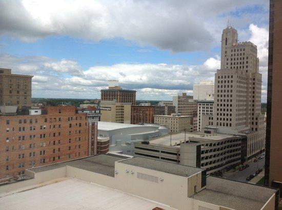 Park Inn Toledo: view of city