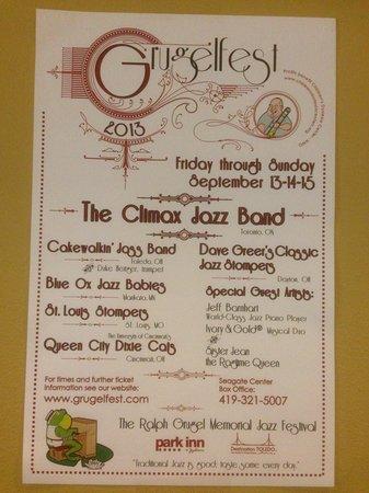 Park Inn Toledo: Grugelfest held at Park Inn