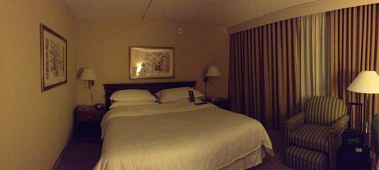 Sheraton Pasadena: Bed