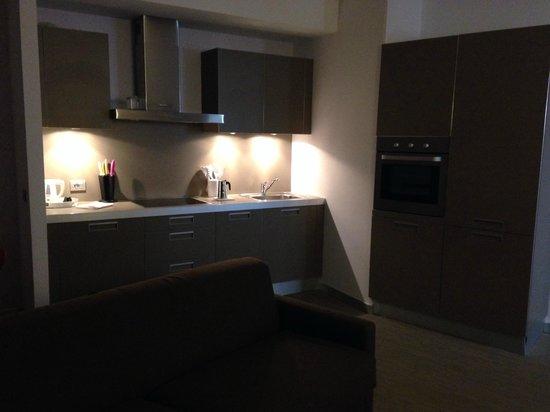 Zambala Luxury Residence: angolo cottura