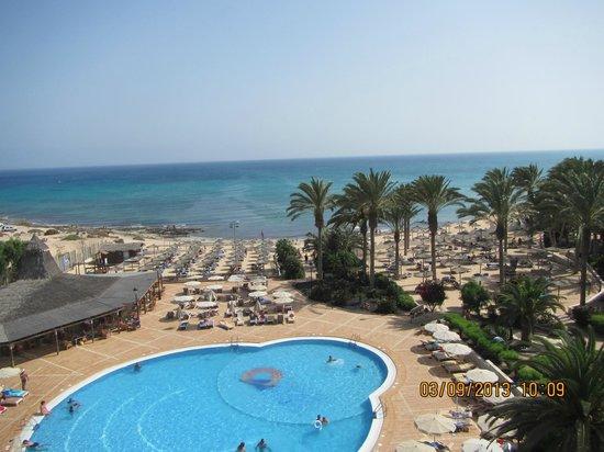 SBH Costa Calma Beach Resort: Schöne Aussicht vom Balkon