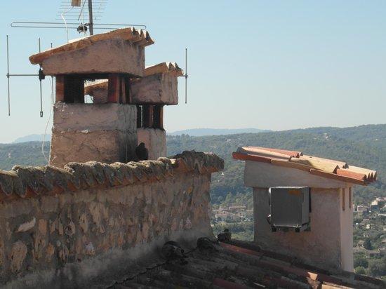 Hotel Le Saint Paul: vista sui tetti