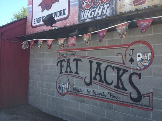 Fat Jack's Oyster Sports Bar: what a great dive!