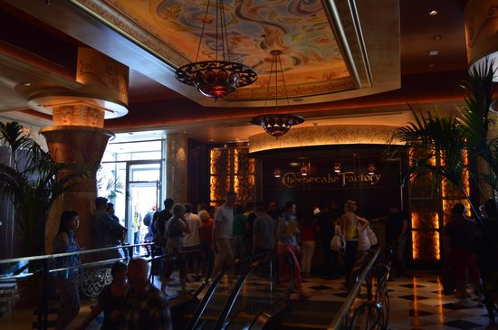 The Cheesecake Factory: reception