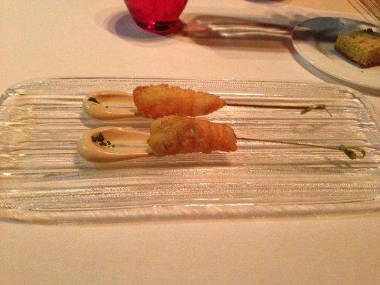 Alborada: fritos de cigala