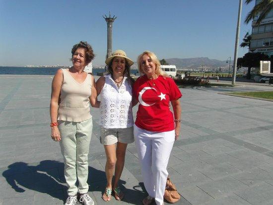 Swissotel Grand Efes Izmir: Essa é a vista que se do hotel.