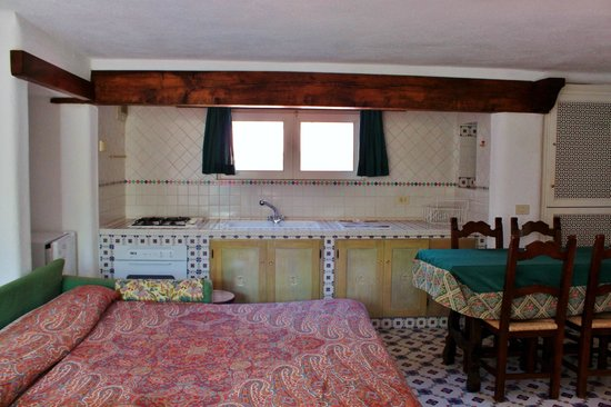 Casa Seralba B&B: camera con cucina