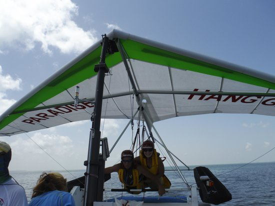 Paradise Hang Gliding: Here we go!