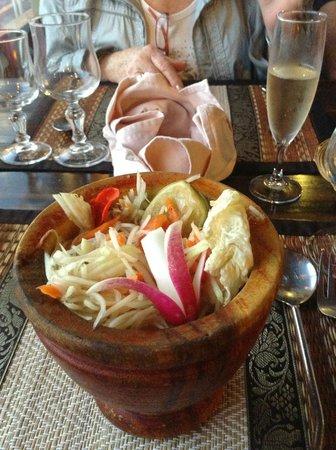 Restaurant Le Mai Thai : Papayasalat