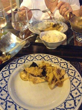 Restaurant Le Mai Thai : Poulet mit Ingwer