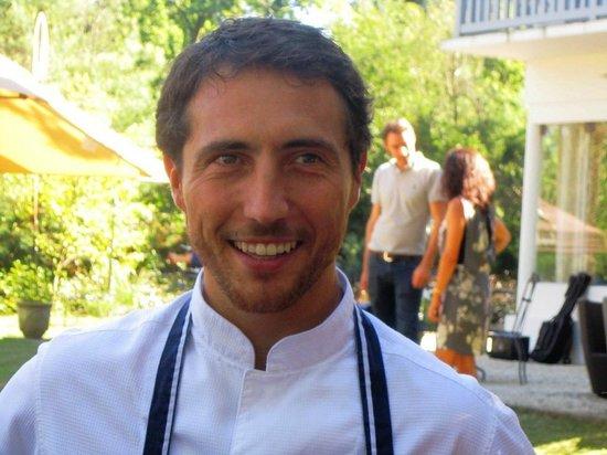 Villa de L'Etang Blanc : Le chef, David Sulpice a fait honneur à la fête de la gastronomie