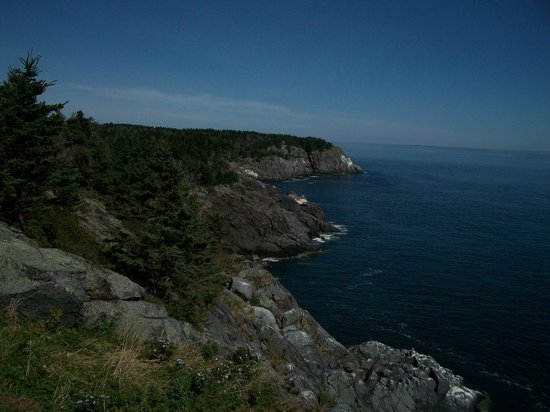 Monhegan Island: View from one of the ledges