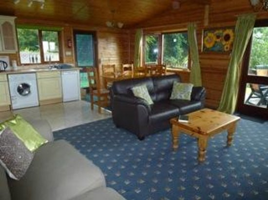 Watermouth Lodges: Amberwood 36 Lounge/Diner