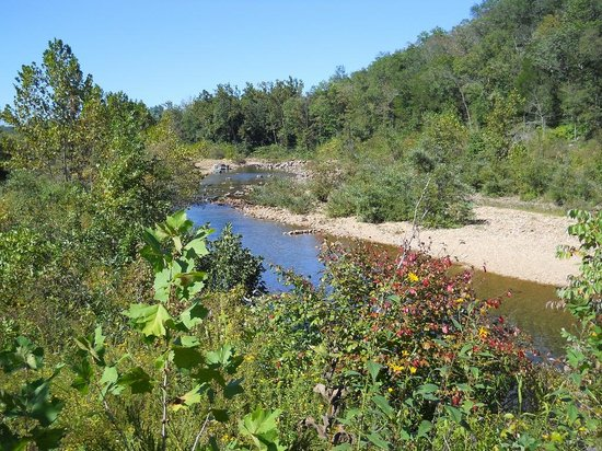 Johnson's Shut-ins State Park: Black River above the shut ins