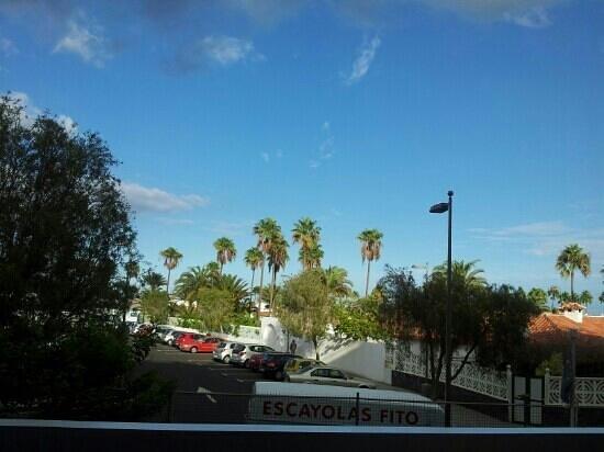 Los Aguacates: room view