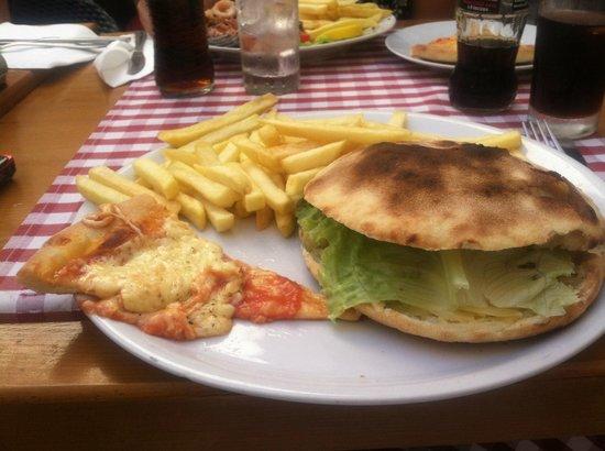 Restaurant San Giovanni: Best Hamburger