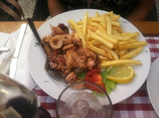 Restaurant San Giovanni: Calamari and Fries