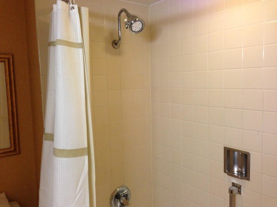 Marriott Riverside at the Convention Center: Shower/Tub COmbo