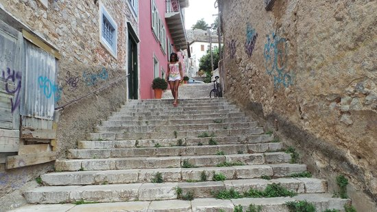 Pension Marianna: Steps Leading To Hotel