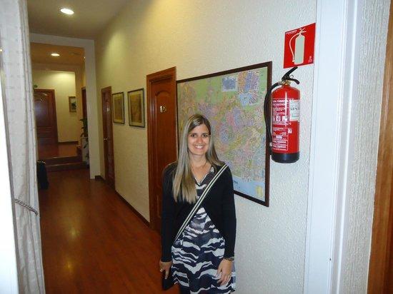 Hotel Pelayo: Interior do hotel
