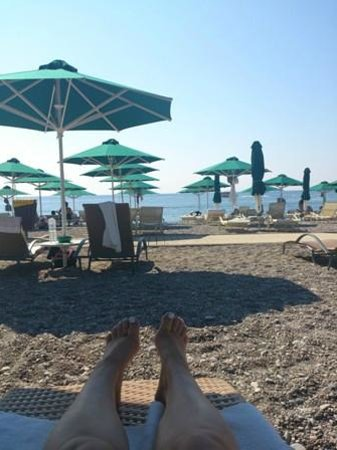 Esperos Mare: Stranden