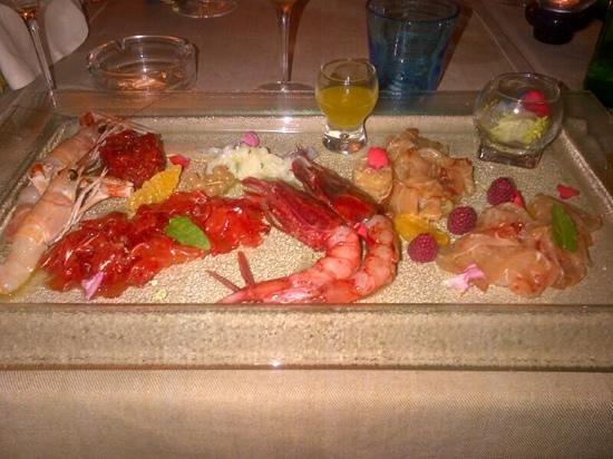 Ristorante La Marinella : Fantastico crudo di pesce