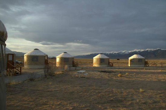 Joyful Journey Hot Springs Spa and Conference Center: Yurt colony