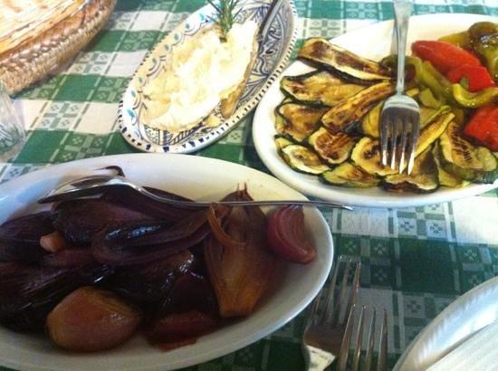 Agriturismo Montiferru : mix antipasti freddi