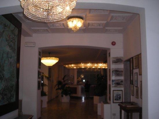 Grande Albergo Marin : la hall