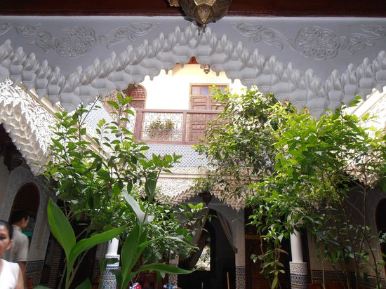 Riad Bab Chems: patio