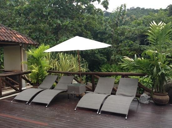 Hotel Pumilio: deck