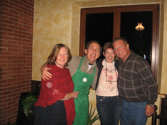 Bella Baita Bed & Breakfast: Marla, Fabrizio, and friends