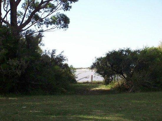 Termas Marinas: Vista de Punta Raza