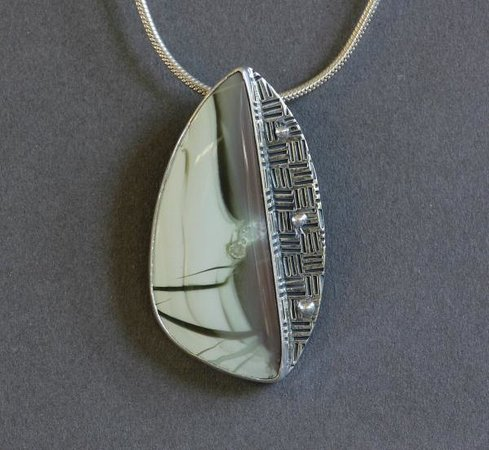 DeLong Studio: Willow Creek Jasper Pendant