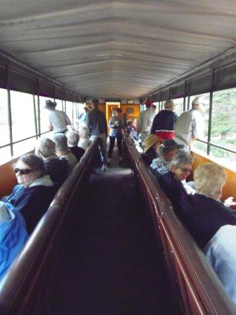 Durango and Silverton Narrow Gauge Railroad and Museum: Open gondala car