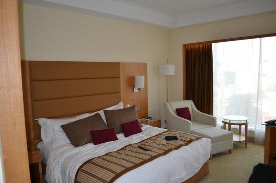 Sankara Nairobi: View of bed area