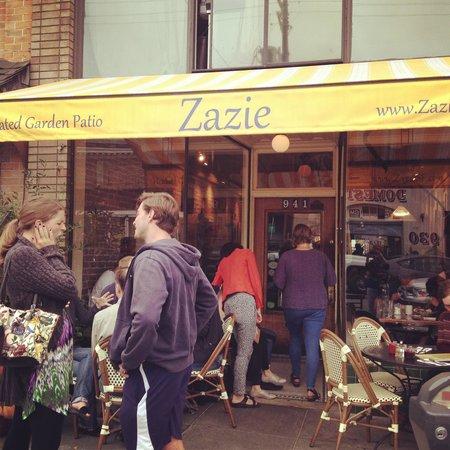 Zazie: Darling place.