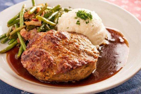 Royal Bavaria Brewery & Restaurant: German Meatloaf
