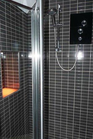 Regency Rooms: Roomy shower cubicle